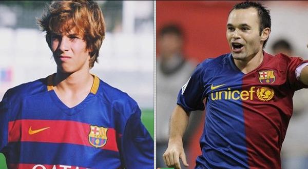 VIDEO El este noul Iniesta de la Barcelona! Are 16 ani si fanii deja il iubesc
