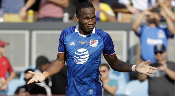 VIDEO! Drogba loveste din nou! 16 goluri in 16 meciuri contra lui Arsenal