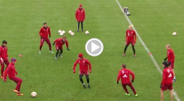 NEBUNIE! Jucatorii lui Bayern Munchen au facut spectacol la antrenament!