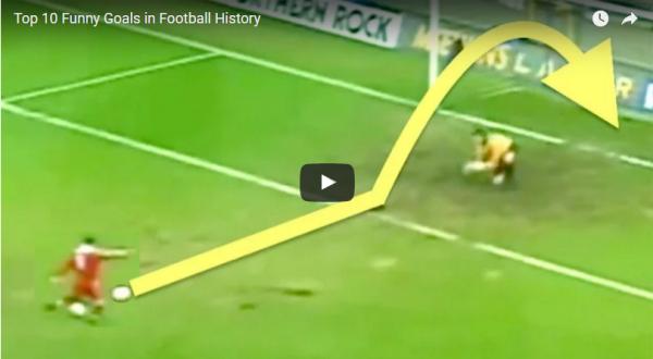 VIDEO! Cele mai amuzante goluri din istorie