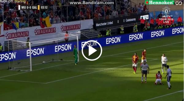 VIDEO! GOOOL ZLATAN la debutul la United dupa numai 4 minute