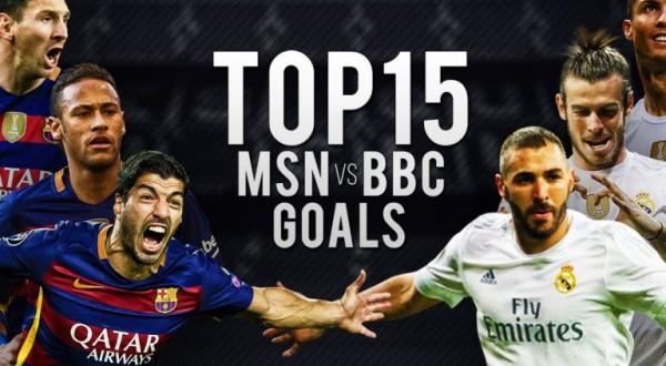 BBC vs MSN. Top 15 goluri marcate de cei mai buni jucatori din lume!