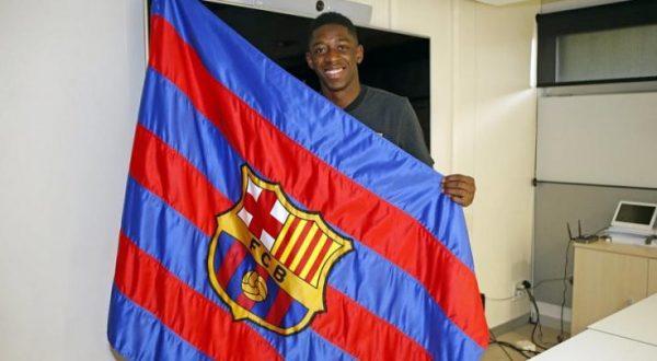 Ousmane Dembele, prezentat oficial la Barcelona! Cele mai tari momente cu urmatorul Neymar al Barcei!