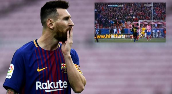 GENIAL! Top 5 goluri date de Messi cu Atletico!