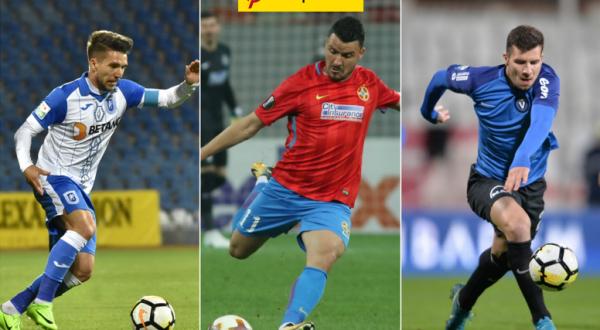 Cine e cel mai bun român? Votează jucătorul anului în Liga 1!